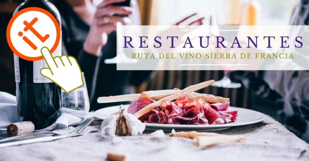 Restaurantes- Ruta del Vino Sierra de Francia